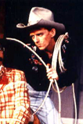 Ezra as Will Parker in Oklahoma