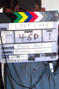 On set of Lost Lake